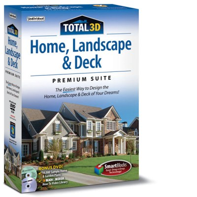 Total 3D Home, Landscape & Deck Premium | Individual Software