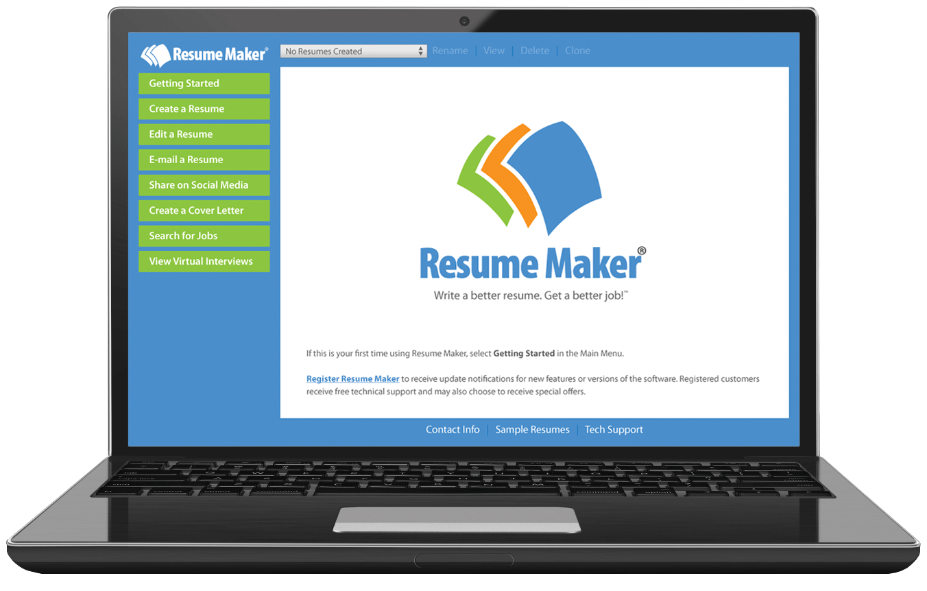 resume maker software for windows 10