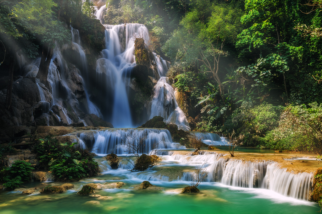 Fall Waterfall Wallpaper Hd Kuang Si Falls Travel Guide Info And Tours All Tours To Laos
