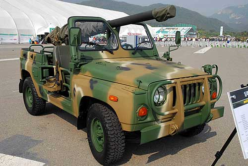 KIA KM424 dengan Recoilless Rifle