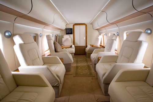 Interior AW101 VVIP