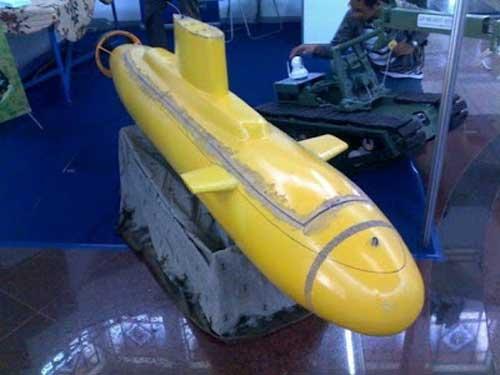 Desain kapal selam karya Kolonel (Pur) Ir Dradjat Budiyanto MBA.