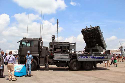 Spyder milik AU Singapura. Platform rudal buatan Israel ini mampu mengusung dua jenis SAM, baik jarak pendek dan jaran menengah.