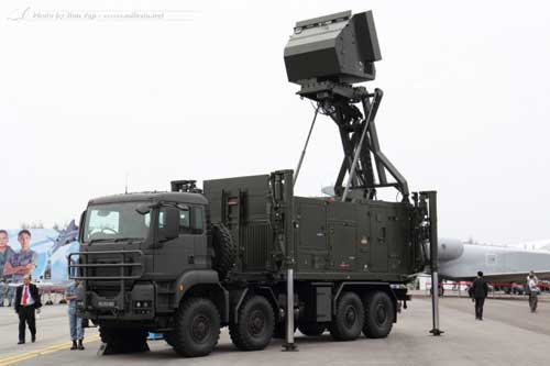 CCU (Command and Control Unit) Spyder AU Singapura.