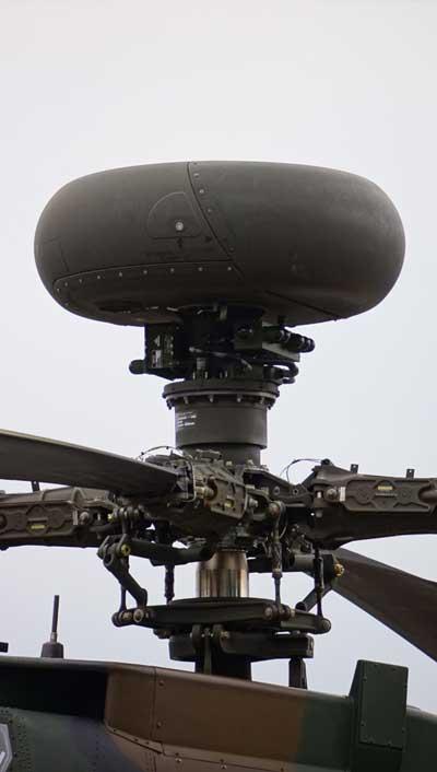 JGSDF_AH-64D(74506)_APG-78_Longbow_millimeter-wave_fire-control_radar