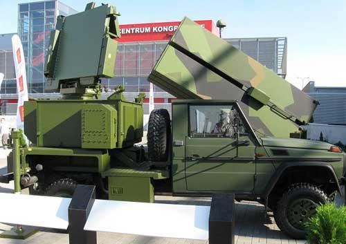 Modul radar MPQ-64F1.
