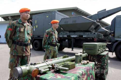 Denhanud Paskhas TNI AU juga dilengkapi rudal QW-3. Foto: Tribunnews.com