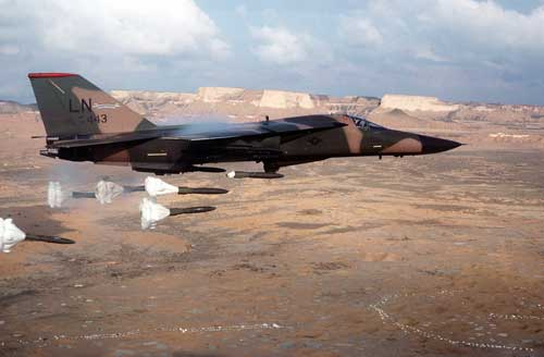 F-111F_dropping_high-drag_bombs