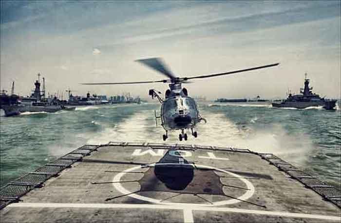 Beginilah Cara Helikopter AS565 MBe Panther TNI AL Menghancurkan Kapal Selam Lawan