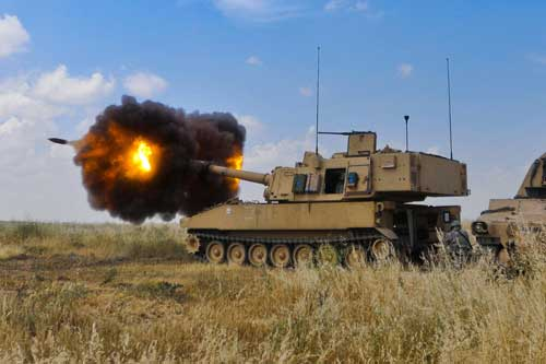 M109A4 Paladin: Perkuat Self Tracked Propelled Howitzer Untuk Armed GS TNI AD