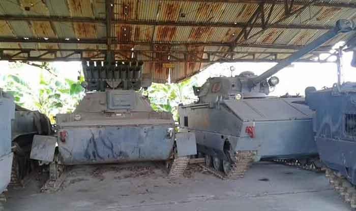 PT-76 MLRS: Prototipe Tank MLRS Amfibi Marinir yang Terlupakan