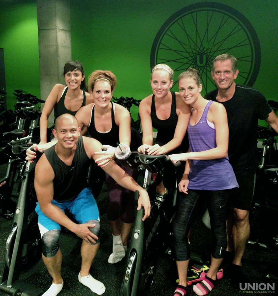 Yoga Towel Calgary: Indoor Cycling And Spinning Union Athletica In Calgary Is
