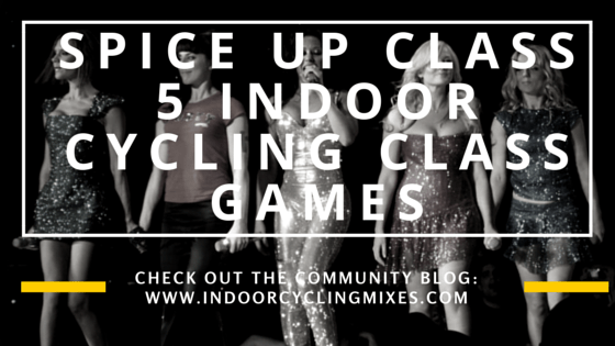 Indoor cycling class games
