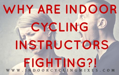 Why are Spin Instructors Fighting?!