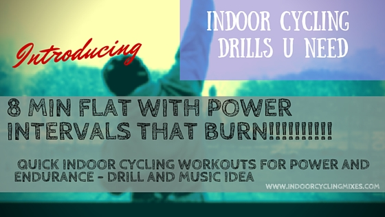 Indoor Cycling and Spin Class Teaching Ideas: QUICK INDOOR CYCLING WORKOUTS FOR POWER AND ENDURANCE
