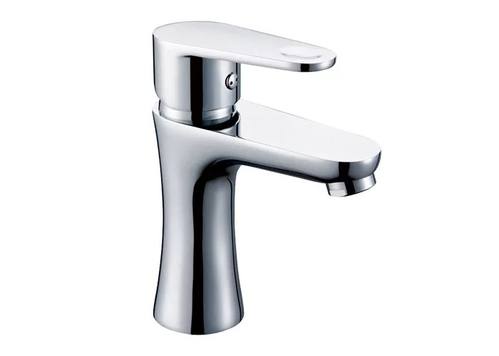 Single Sink Faucet Hot Cold Water Saving Deck Mounted