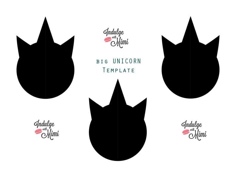 Double Unicorn Macaron Collaboration with Christina\u0027s Cupcakes - unicorn template