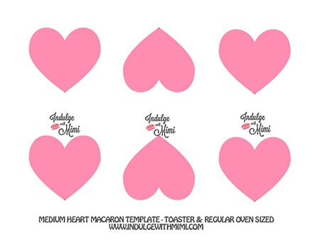 Valentine\u0027s Day Macaron Projects  Templates