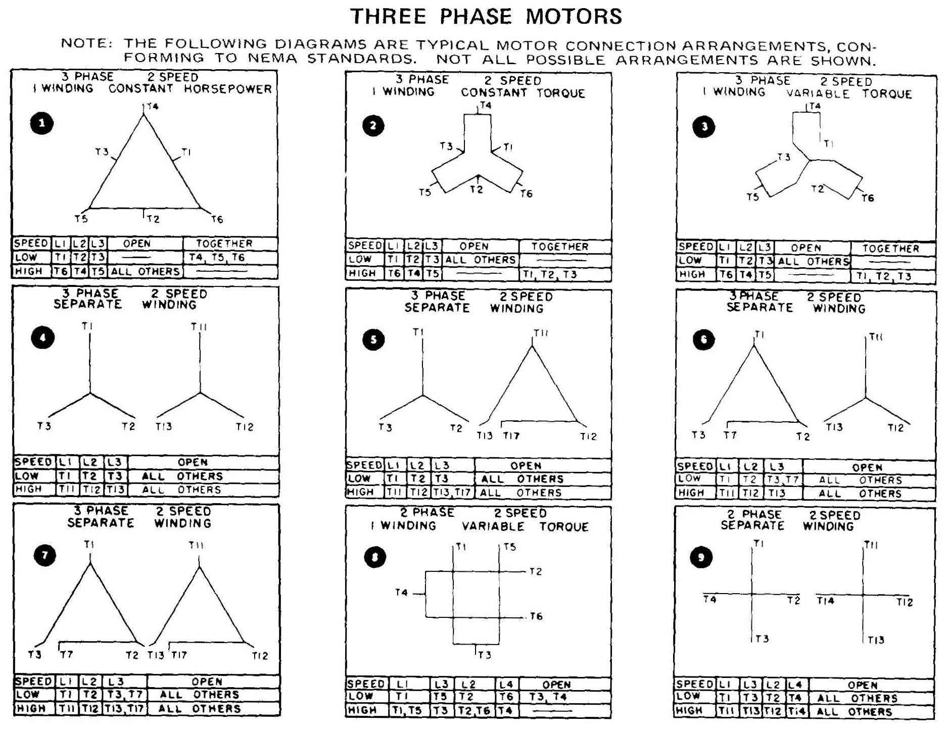 12 lead motor wiring schematic