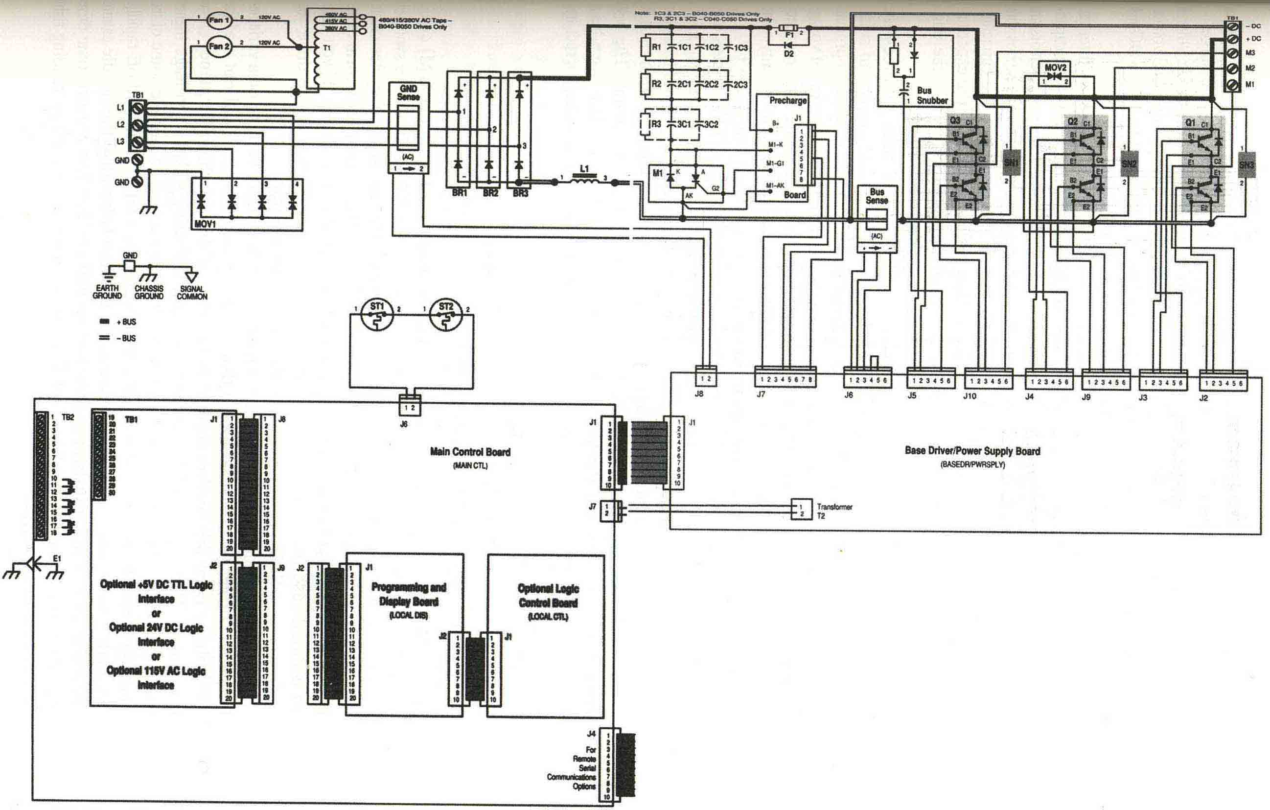 block diagram electrical drive
