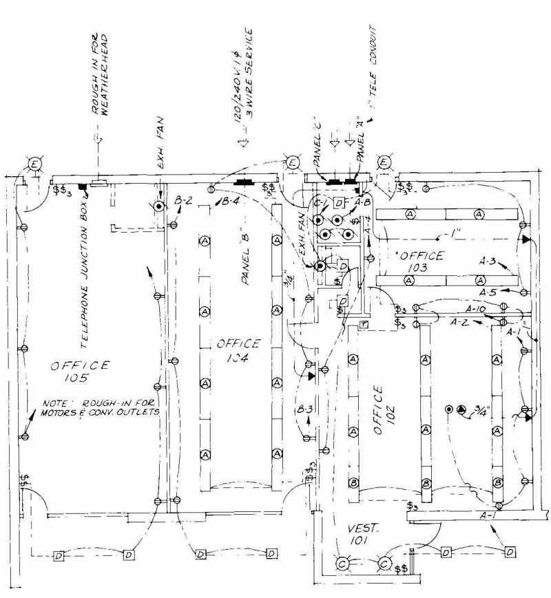 Electrical Plan Drawings Wiring Diagram