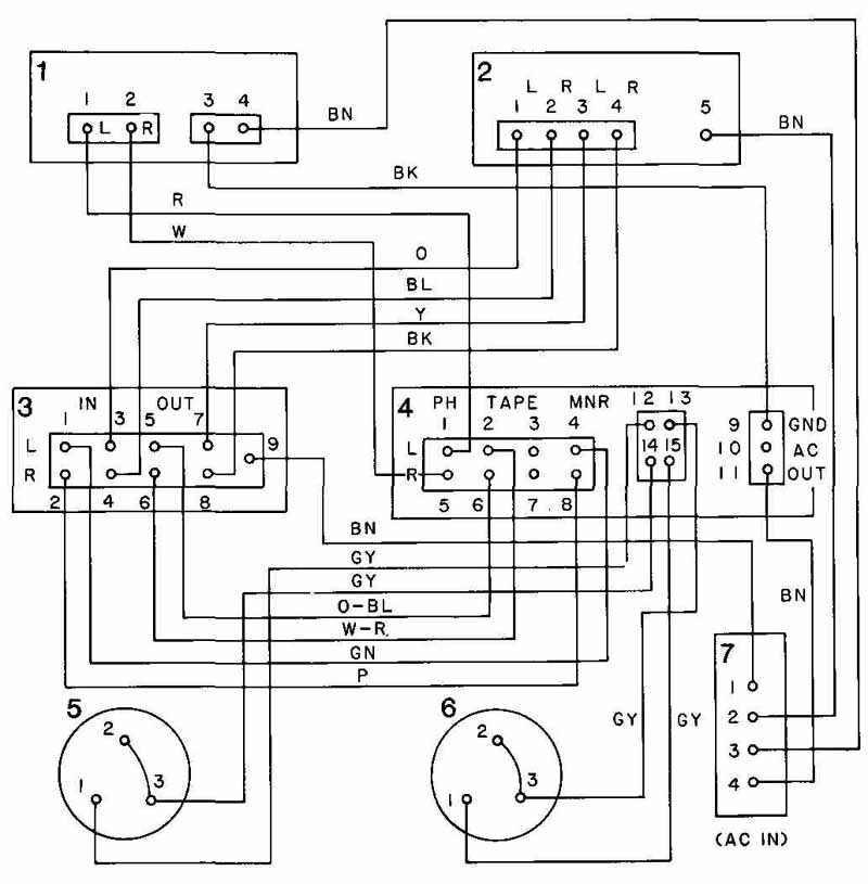 electrical wiring diagrams for th m606