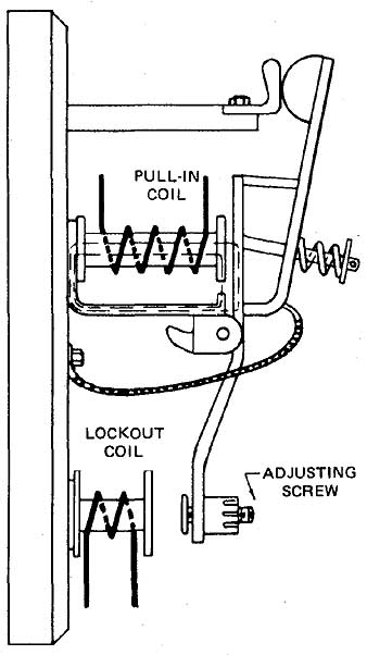 electronic lockout relay