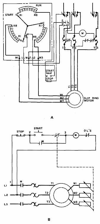 wound rotor motor circuit diagram