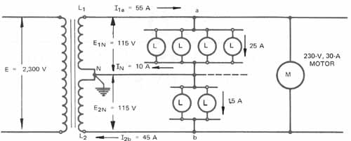 single phase transformer wire diagram