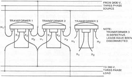 Open Delta Transformer Wiring Diagram Wiring Diagram