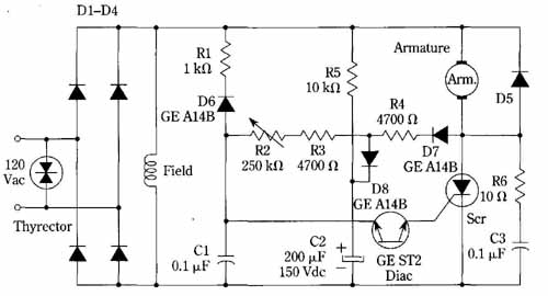 General Electric Dc Shunt Motor Wiring Diagram Wiring Schematic