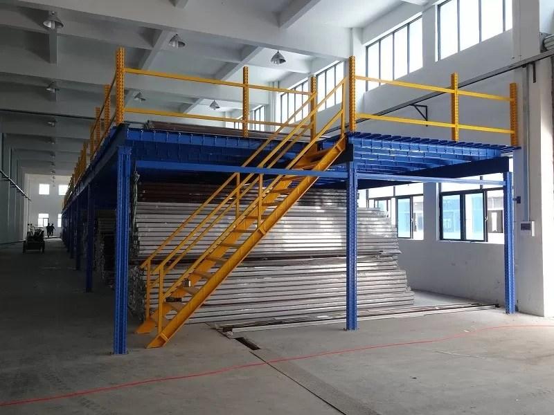 Multi Category Warehouse Mezzanine Storage Systems For
