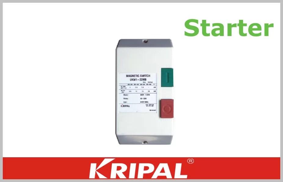 9A 12A 18A 22A Single Phase DOL Starter AC Contactor Definite Purpose