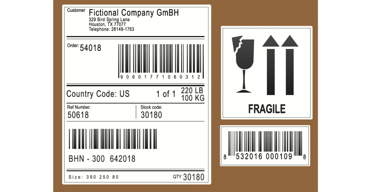 How to automate the selection of shipping labels in ERP