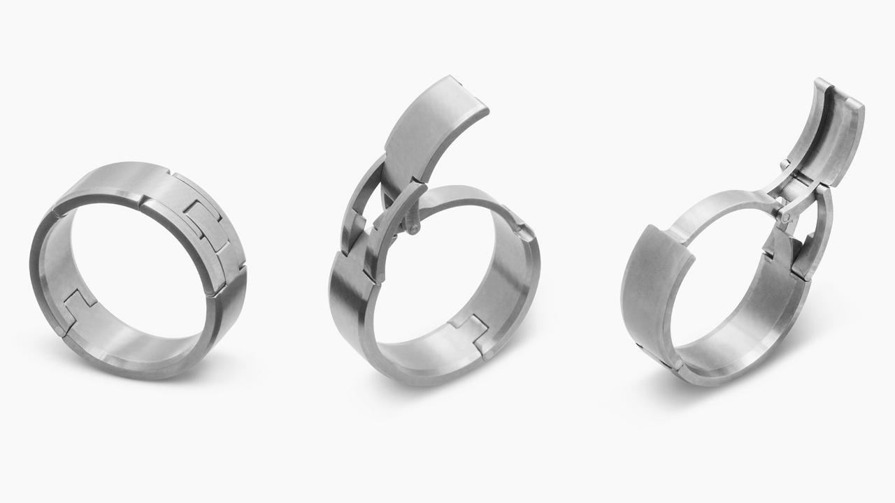 safety wedding band Revolutionary Concept Improves Wedding Rings For Men