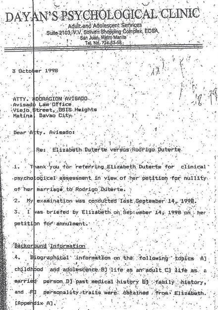 Psychological Report Sampleconfidential Psychological Report Names