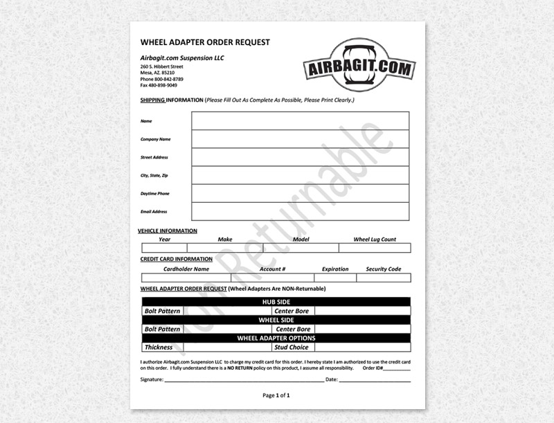 Business Form Projects - Indy Business Solutions LLC