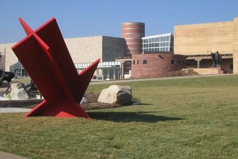 Giant Red Arrow