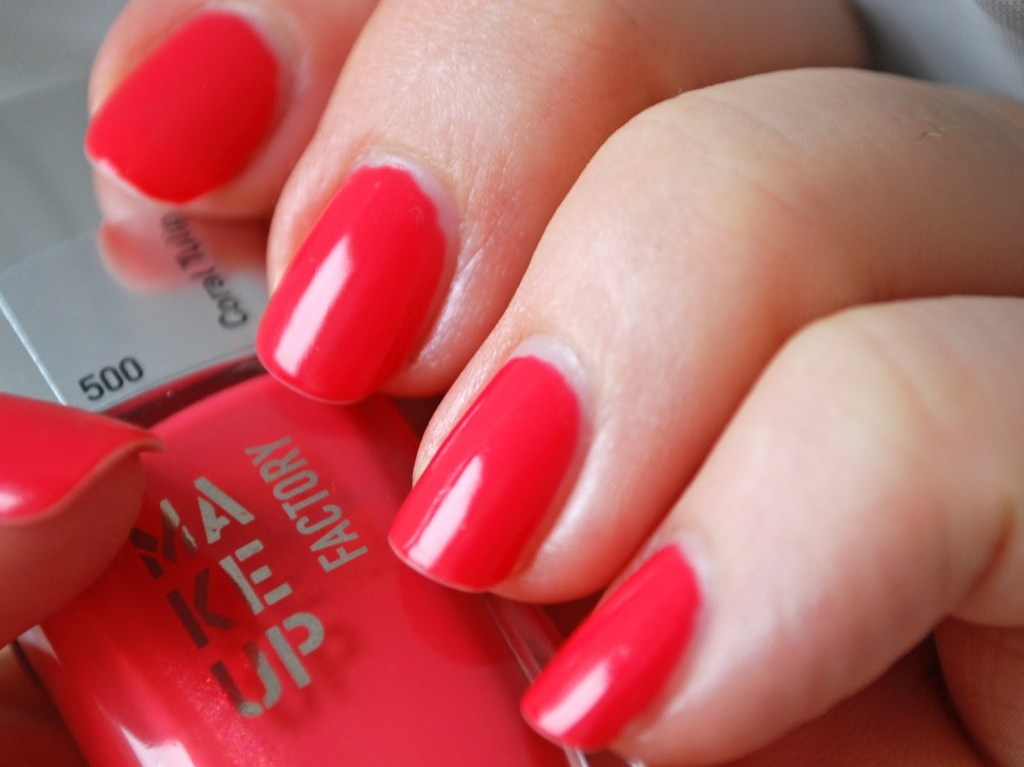Make Up Factory Nagellack 500 Coral Tulip