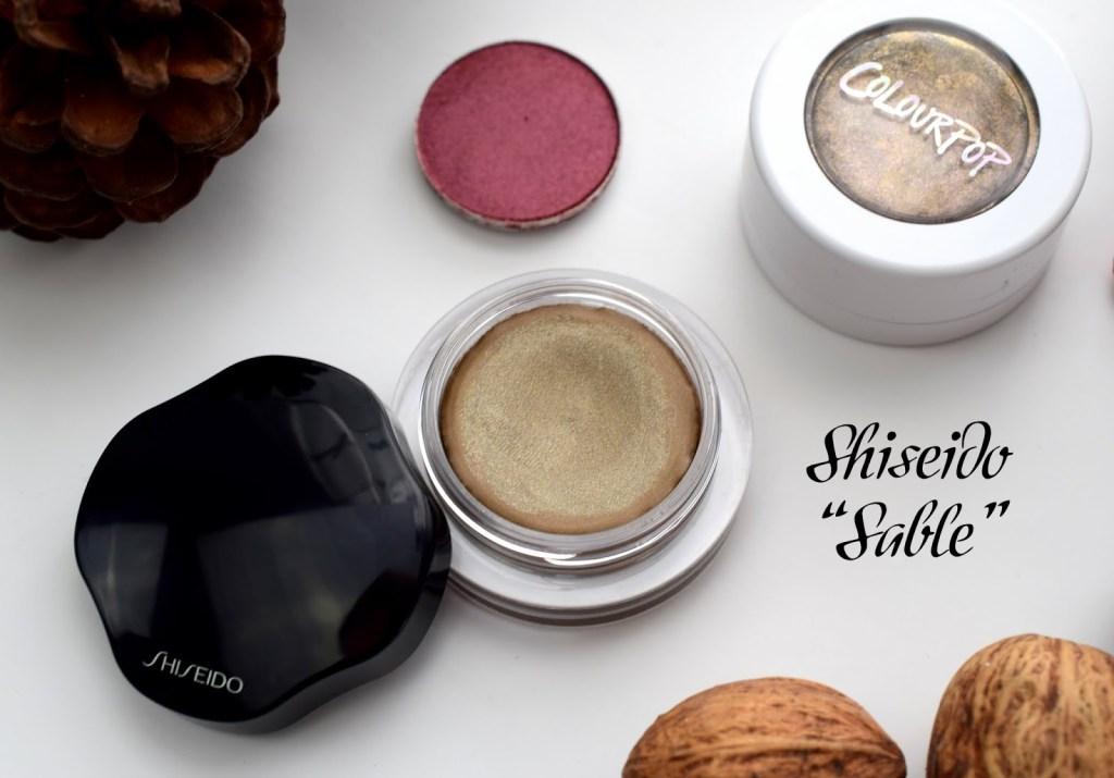 Meine Top 3 Herbst Lidschatten Shiseido BR 709 Sable