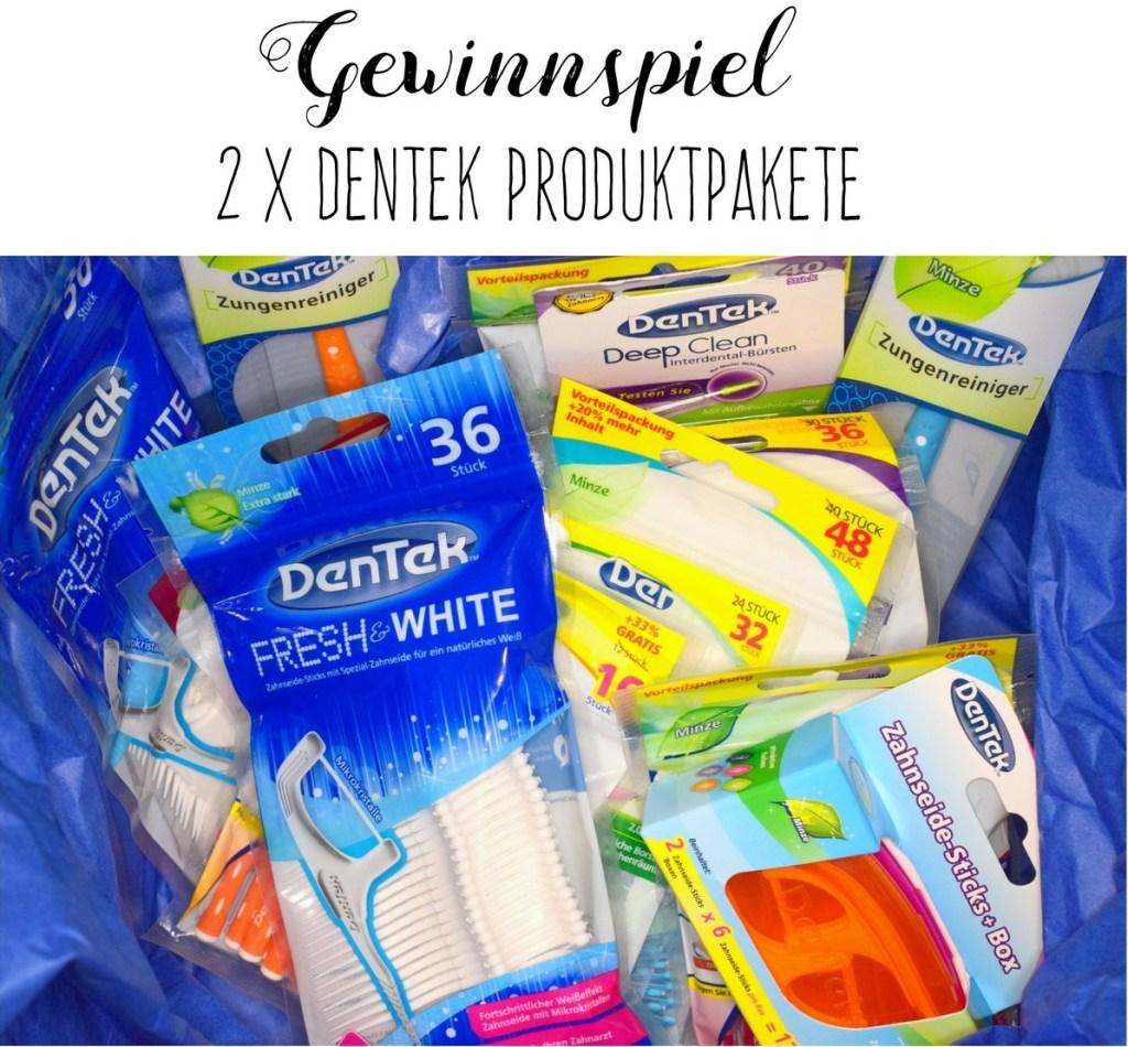 DenTek Mundpflege Zahnpflege Gewinnspiel