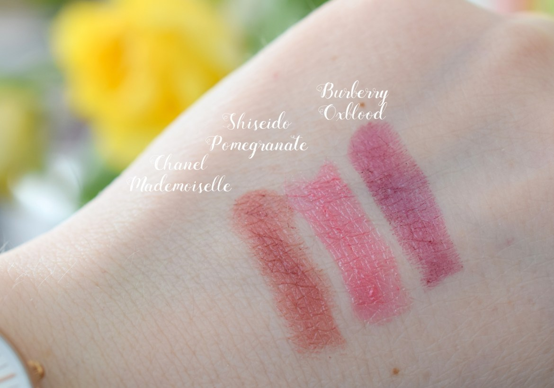 High End Lippenstifte Top 3 Favoriten Swatches Beauty Blogger Blogparade