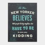 Dieci Caratteristiche che Fanno di Voi un Vero Newyorker