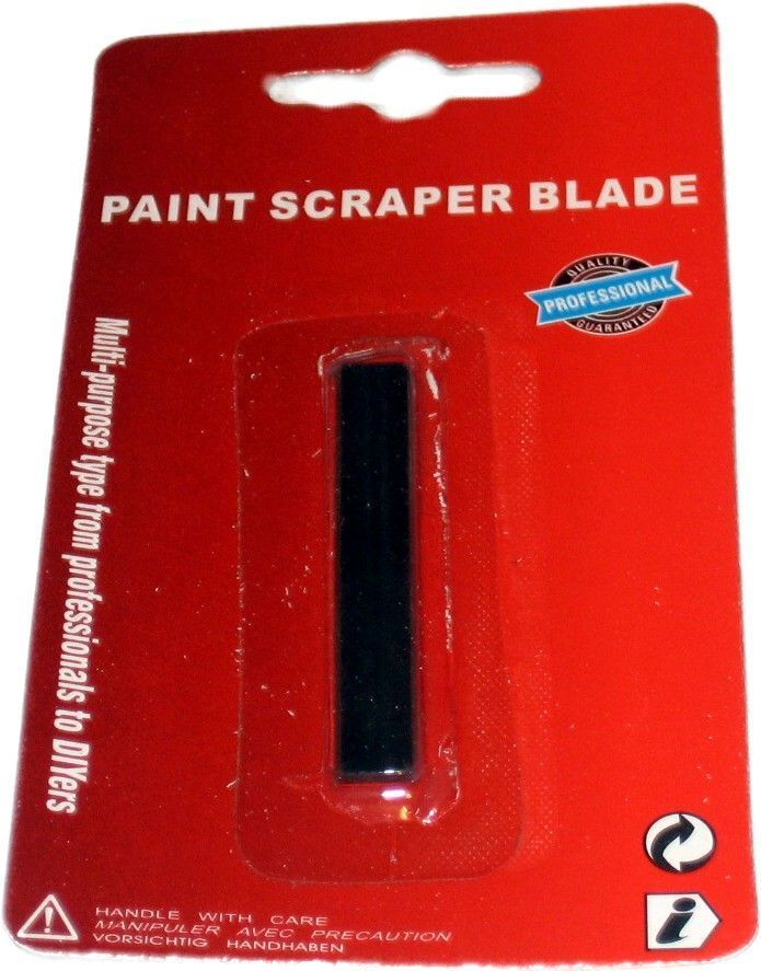 Ersatzklingen für Farbschaber 50mm gerade Klinge - InFaBe - farbschaber