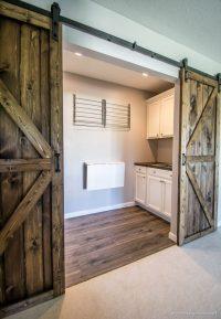 DIY Double Barn Door Plans - Infarrantly Creative