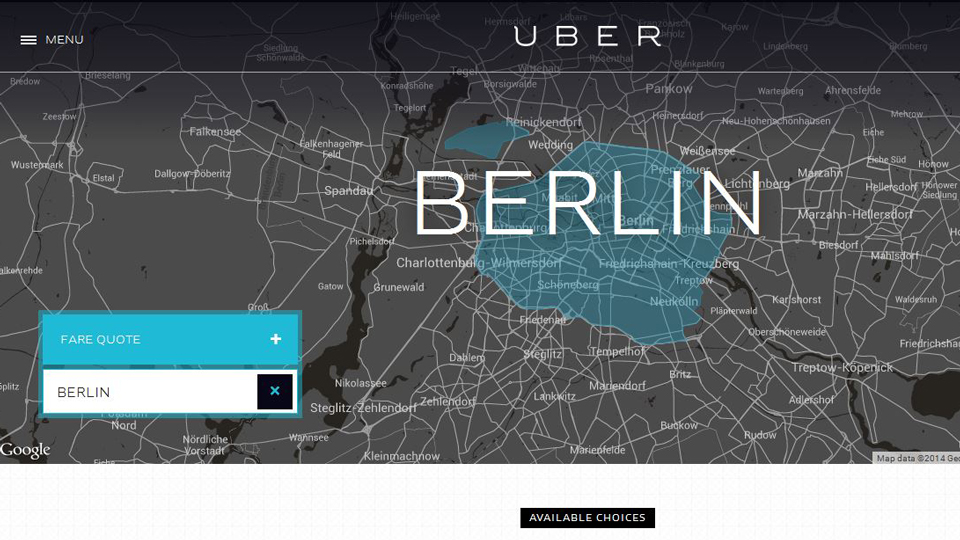 Uber banned in Berlin due to safety concerns