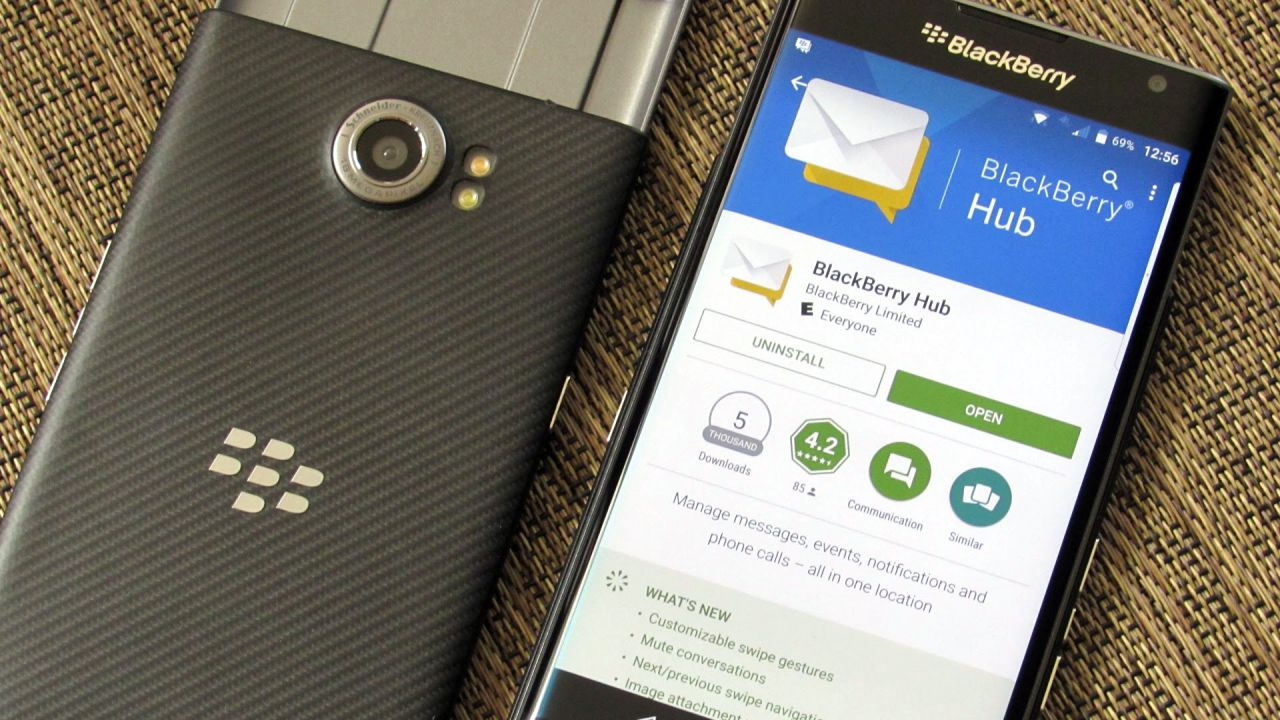 Blackberry To Launch Two Android Phones This Year