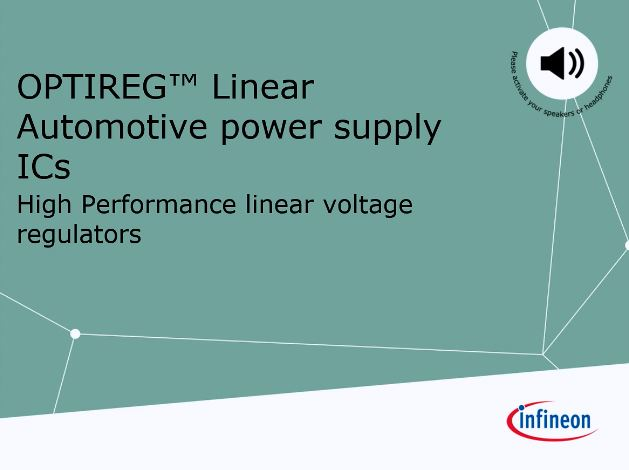 Linear Voltage Regulator (LDO) - Infineon Technologies