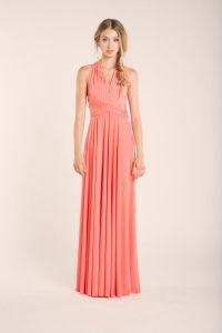 Coral bridesmaid dresses, Convertible Bridesmaid Dress ...