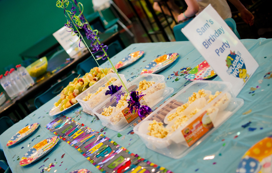 Parties Kambah - Childrens birthday party ideas canberra
